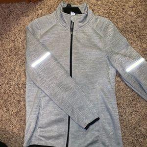 Zip up workout jacket